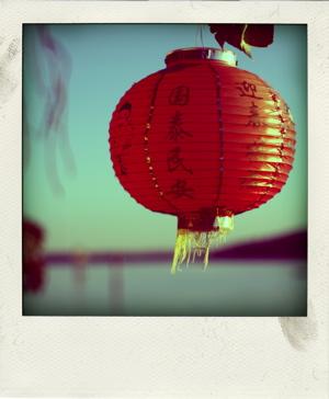 Poladroid beach lantern