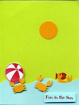 Fun in the sun w crabs